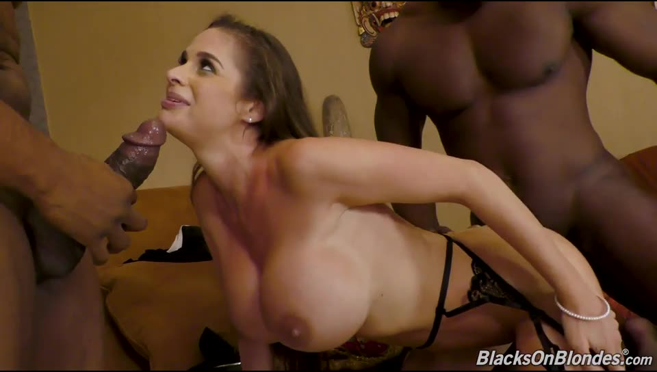 [BlacksOnBlondes / DogFartNetwork] Double Penentration - Cathy Heaven (DP)/(2M1F)