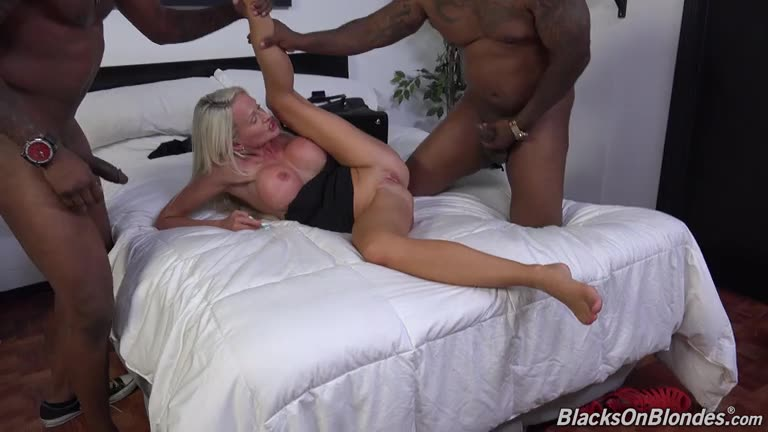 [BlacksOnBlondes / DogFartNetwork] Double Penentration - Cindy Sun (DP)/(Big Tits)