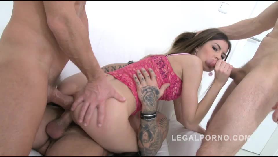 LegalPorno -Cindy Shine learns how to be a porn star: Airtight DP Screenshot 7