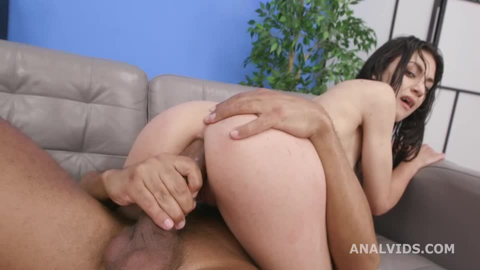 2 BBC for Balls Deep Anal, DP, DAP, Gapes, Creampie and Swallow (LegalPorno) Screenshot 9