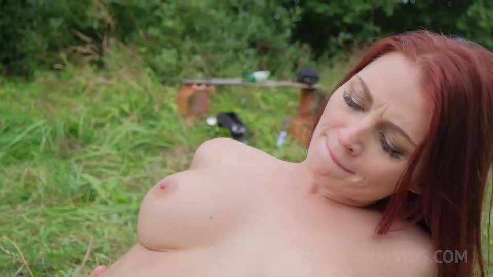 Hot double penetration in the woods NRX024 (LegalPorno / AnalVids) Screenshot 5