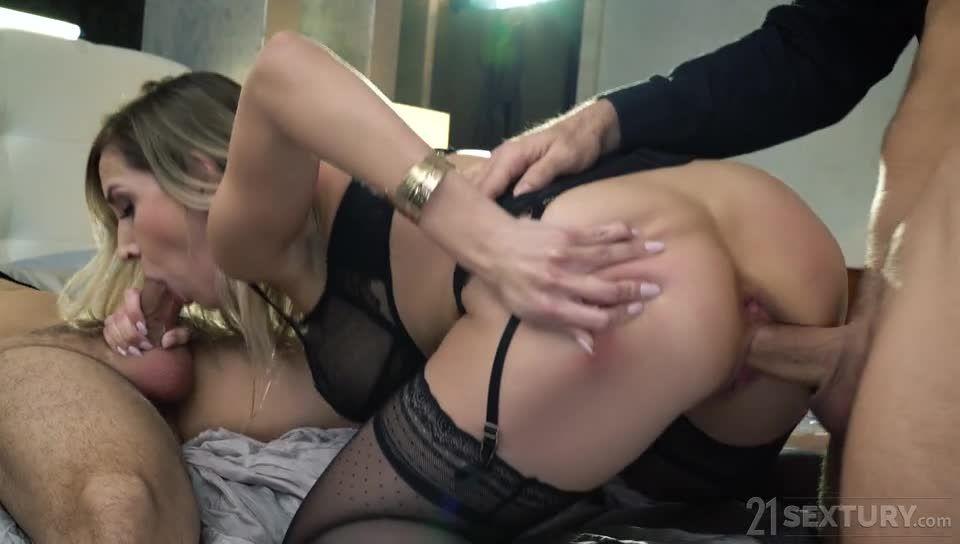 Black Lace Seduction (DPFanatics / 21Sextury) Screenshot 2