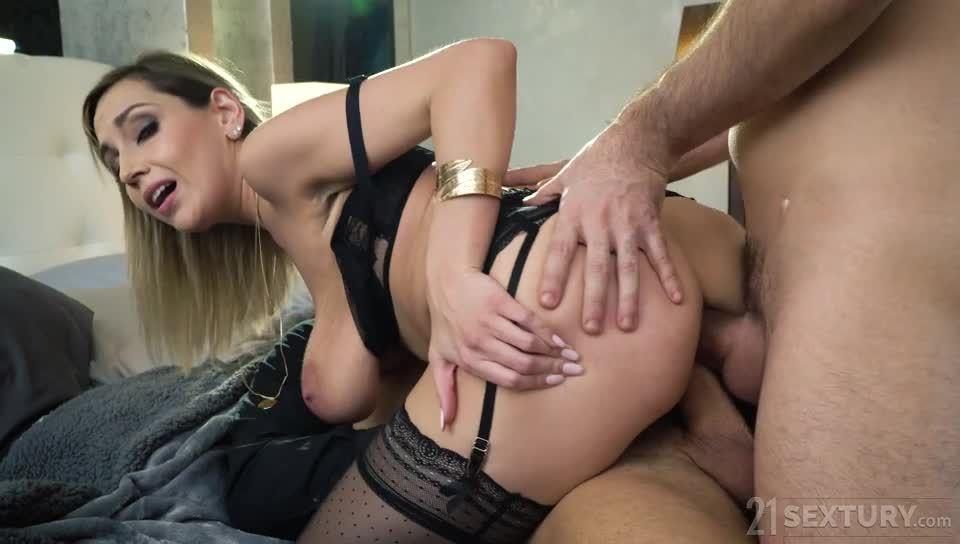 Black Lace Seduction (DPFanatics / 21Sextury) Screenshot 6