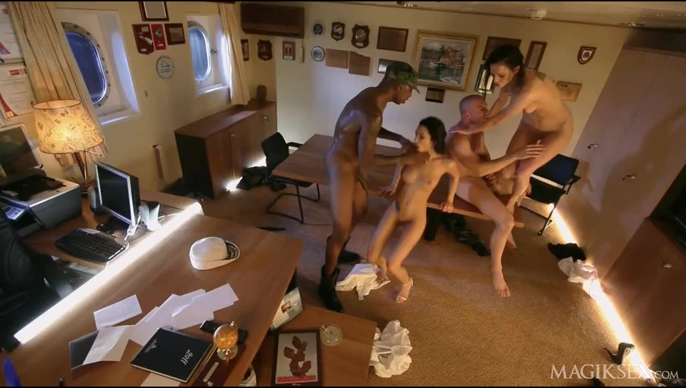 Private Gold 147: Adventures on the Lust Boat 3 - Abelia (Orgy)/(Brunette)