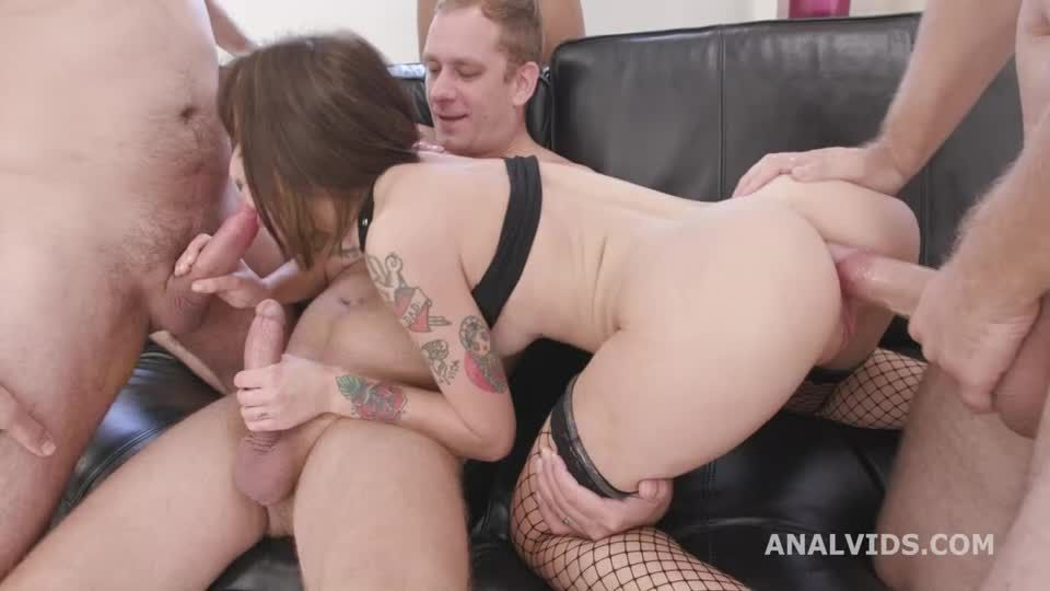 DAP Destination, Balls Deep Anal, Gapes, DAP and Swallow (LegalPorno / AnalVids) Screenshot 1