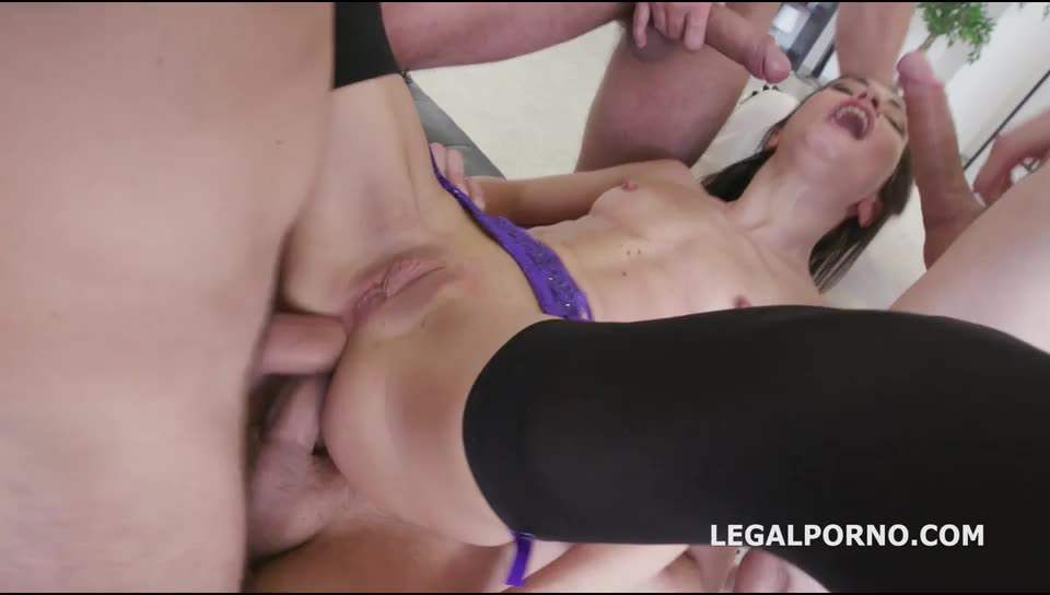 [LegalPorno] Monsters of DAP. Dap Gapes. She does it good and gets it deep - Valentina Bianco (DAP)/(Lingerie)