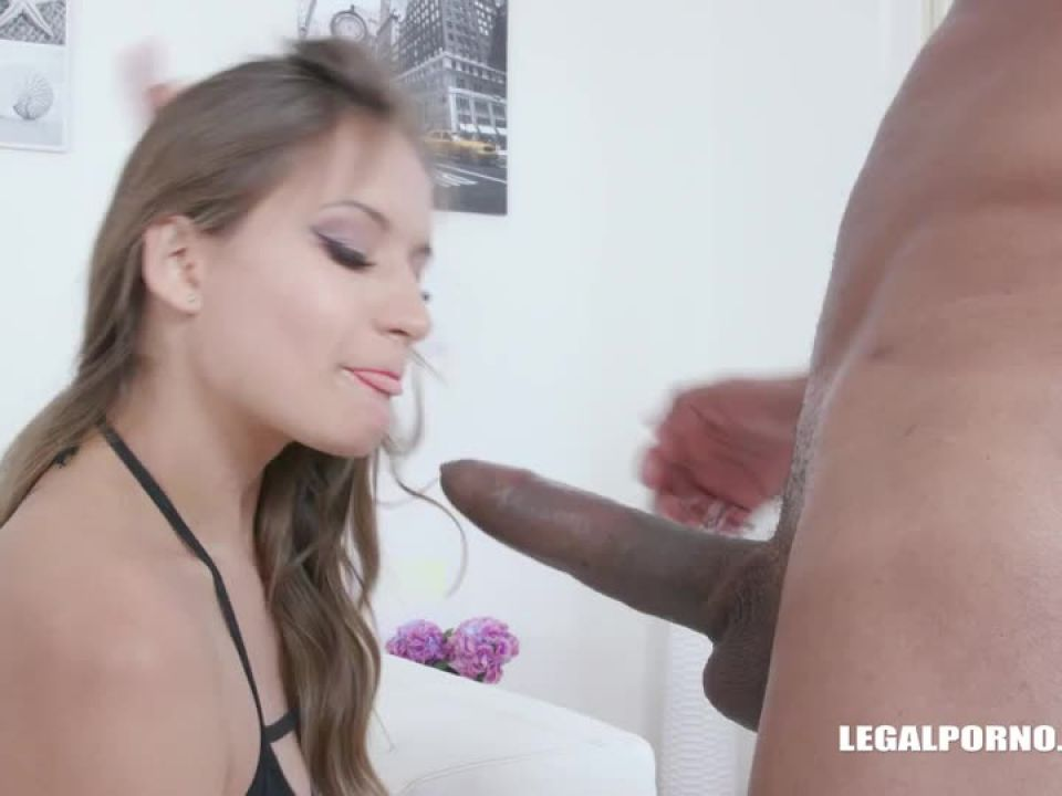 First time interracial first time DAP (LegalPorno) Screenshot 0