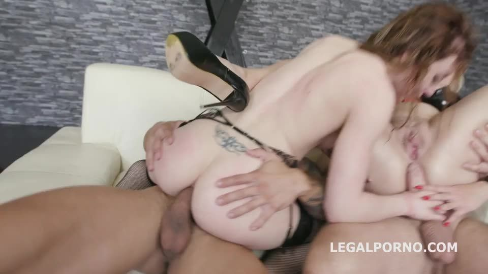 [LegalPorno] Mistress goes wet, Domination, Squirting, Balls deep Anal, DAP, Pee Drink, Swallow - Monika Wild, Angel Wicky (DAP)/(Big Tits)