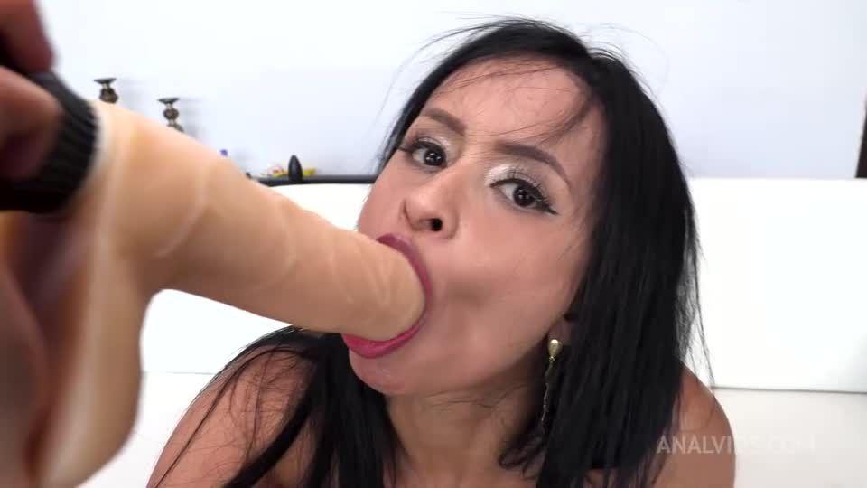 Big Butt Colombian Milf gets her first DAP NT072 (LegalPorno / AnalVids) Screenshot 1