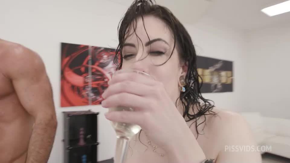 DAP and Pee, BBC, BWC, ATOGM, DAP, Big Gapes, ButtRose, Pee Drink, Swallow (LegalPorno / AnalVids) Screenshot 6