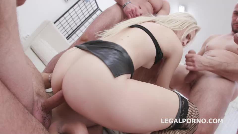 [LegalPorno] DAP Gangbang, Balls Deep Anal, DAP, Gapes, Cremapie To Swallow - Nikki Hill (DAP)/(Natural Tits)