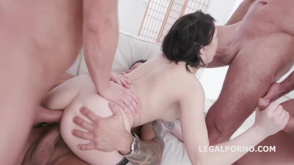 Fucking Wet, Balls Deep Anal, DP, Pee Drink and Facial (LegalPorno) Cover Image