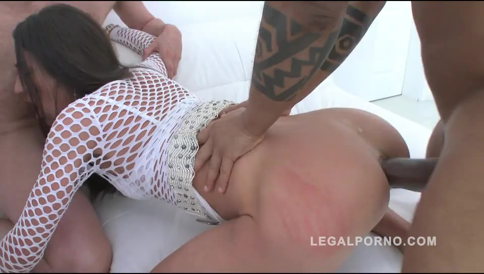 [LegalPorno] double anal & double pussy with 3 guys (DAP, DP, DVP) - Susan Ayn, Nataly Gold (DPP)/(Interracial)