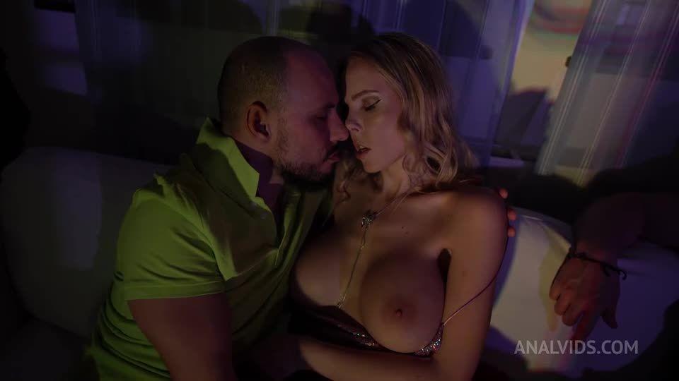 DAP Gapes, Blowjob, DP, anal, dress, facial cumshot, Swallow NF068 (LegalPorno) Screenshot 1