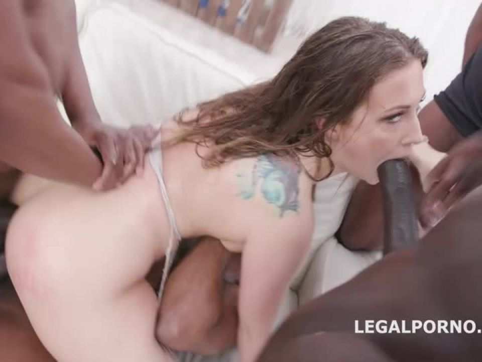 Waka Waka, Blacks Are Coming BBC with Balls Deep Anal, DAP, Rough Fucking, Creampie and Facial (LegalPorno) Screenshot 5