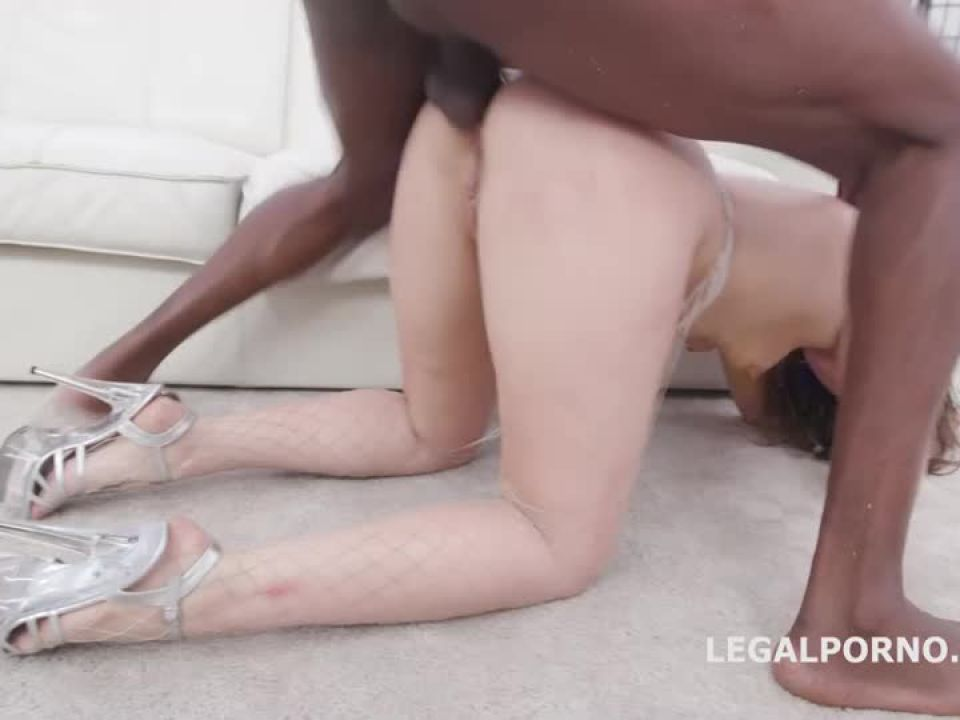 Waka Waka, Blacks Are Coming BBC with Balls Deep Anal, DAP, Rough Fucking, Creampie and Facial (LegalPorno) Screenshot 8