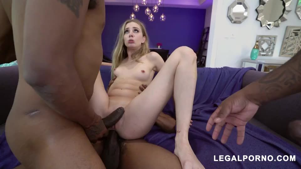 [LegalPorno] loves dick she takes 3 BBCs BALLS DEEP super horny and nasty I love this girl - Haley Reed (DP)/(High Heels)