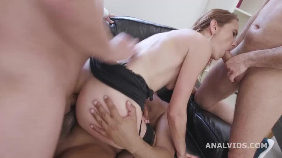 Fucking Wet, ATM, Balls Deep Anal, DAP, Gapes, ButtRose, Pee Drink, Swallow (LegalPorno / AnalVids) Screenshot 5