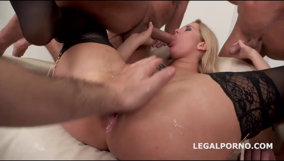 [LegalPorno] Ninfo Animal – double dapped. Ball Deep DAP, Squirting, spitting, self degrading. - Francesca DiCaprio, Nikky Dream (DAP)/(Blonde)