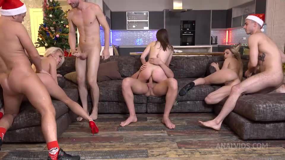 Happy New Year's – First DAP NRX062 (LegalPorno / AnalVids) Screenshot 4