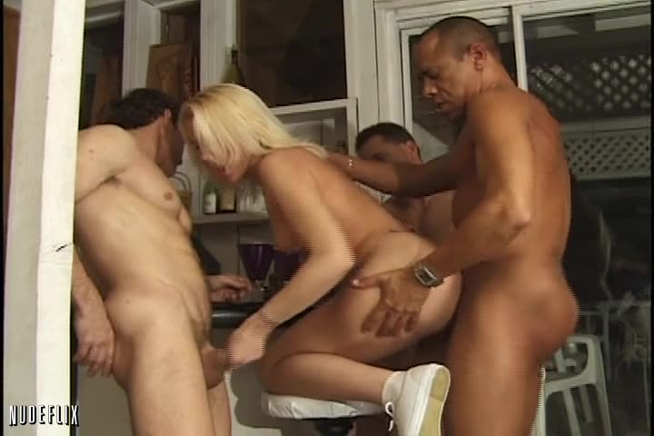 [Pandemonium] It's My Party 3 / Gang Bang Addicts 2 / Dirty Little Gang Bang Sluts 5 - Olivia Saint, Maggie Star (GangBang)/(Blonde)