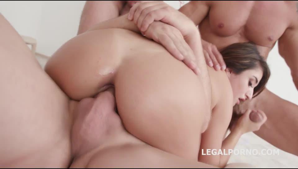 [LegalPorno] DAP Destination with Balls Deep Anal, DP, Gapes, DAP, Swallow - Isabella Nice (GangBang)/(5M1F)
