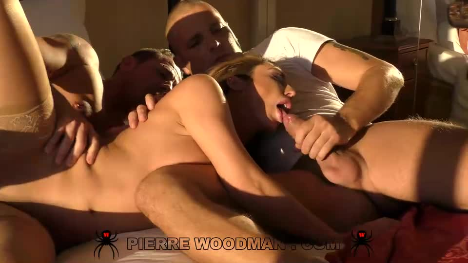 [WoodmanCastingX] XXXX – Hot Evening With 3 Men - Christiana Cinn (DP)/(Brunette)