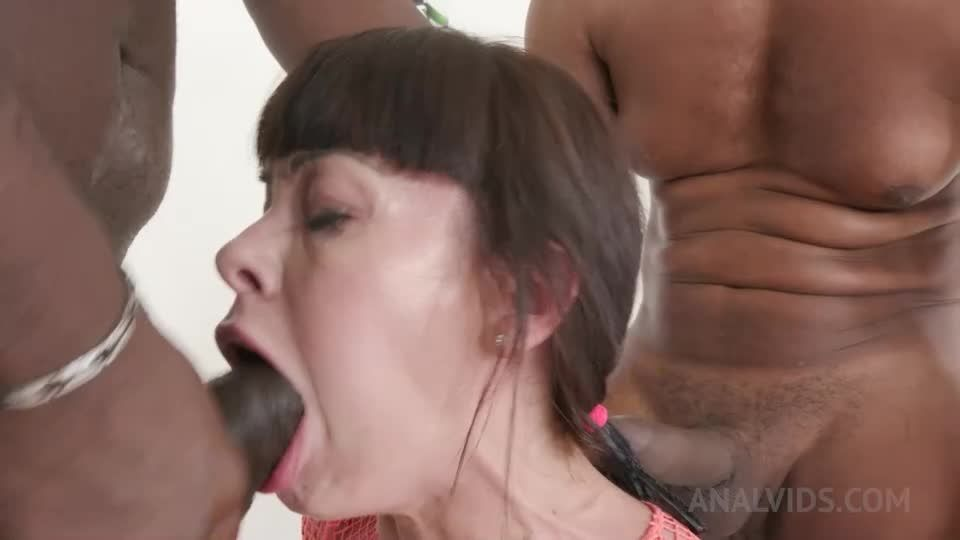 Kinky interracial DP KS102 (LegalPorno) Screenshot 9