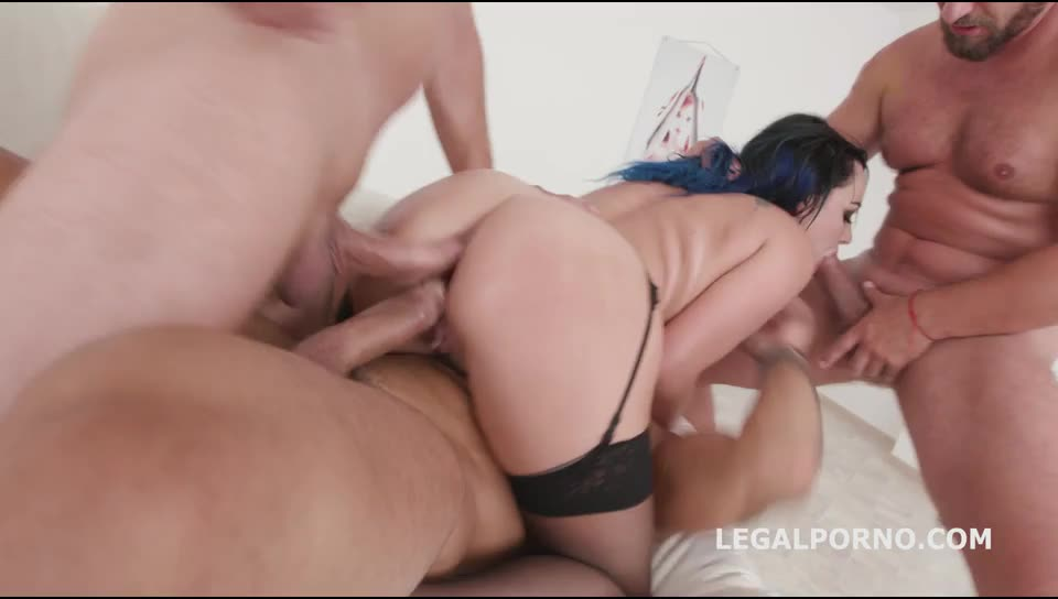 [LegalPorno] DAP Destination First time Double Anal with multiple position, Balls Deep Anal, Great Gapes, Facial - Charlotte Cross (GangBang)/(Brunette)