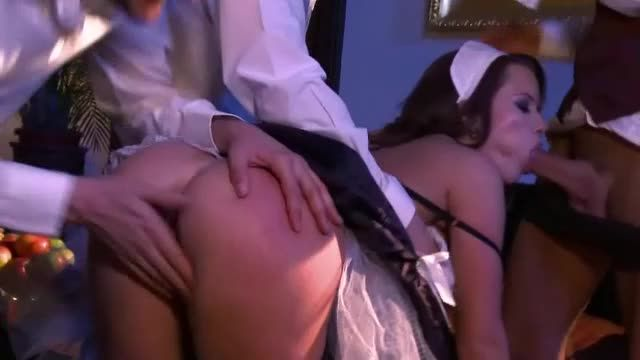 [Marc Dorcel] French Maid Service 2: Trainees / Soubrettes Services 2 - Cindy Dollar (DP)/(Uniform)