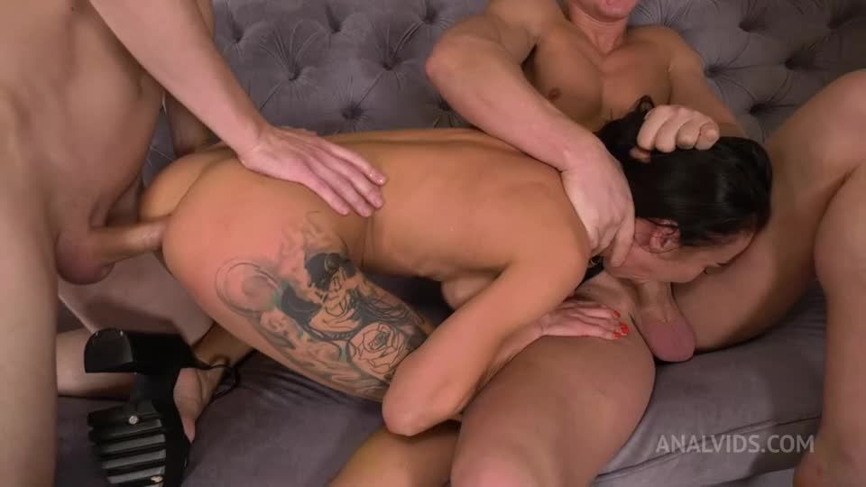 Like the first time! DP nostalgia (Double penetration, deep throat, anal squirt, hard deep balls anal) NRX (LegalPorno / AnalVids) Screenshot 1