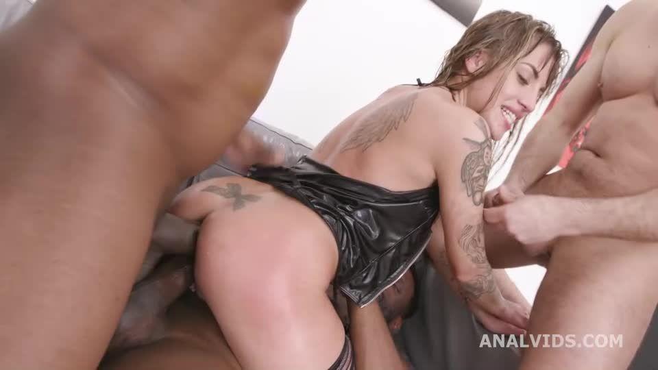 Basined, Balls Deep Anal, DAP, Pee Drink, Gapes and Swallow (LegalPorno / AnalVids) Screenshot 5