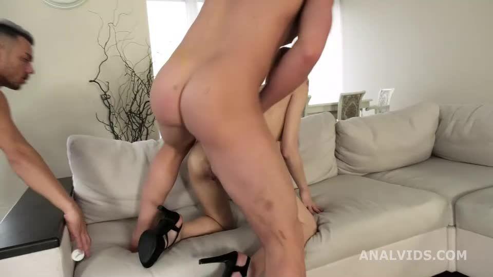 My First DP, Balls Deep Anal, DP, and Cum in Mouth (LegalPorno) Screenshot 1
