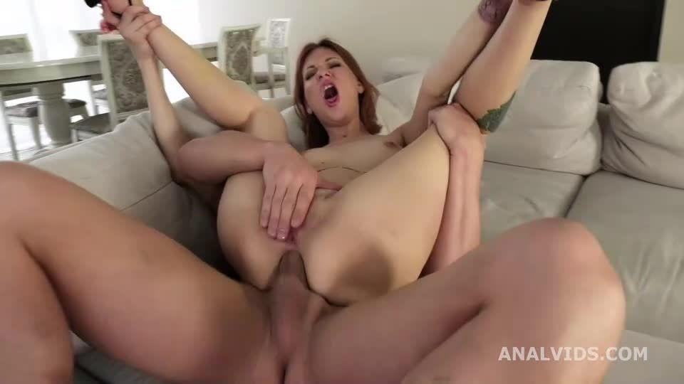 My First DP, Balls Deep Anal, DP, and Cum in Mouth (LegalPorno) Screenshot 2