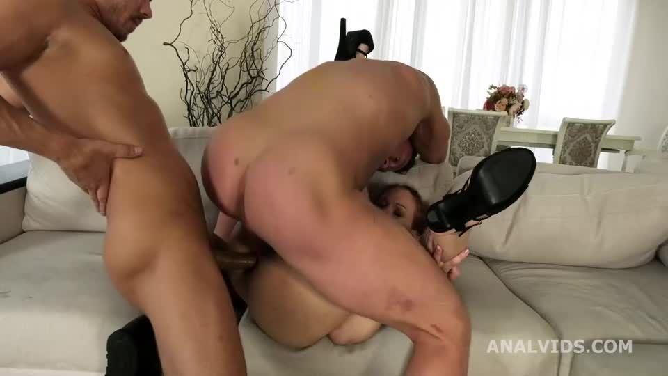 My First DP, Balls Deep Anal, DP, and Cum in Mouth (LegalPorno) Screenshot 4