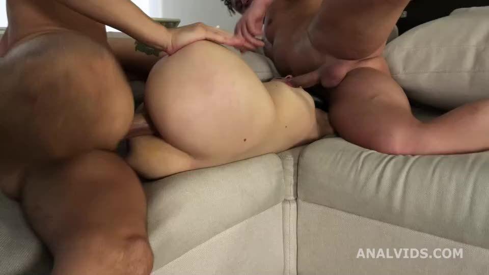 My First DP, Balls Deep Anal, DP, and Cum in Mouth (LegalPorno) Screenshot 7