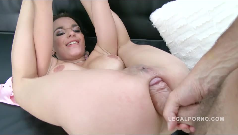 Busty french slut Airtight DP & anal fisting (LegalPorno) Screenshot 3