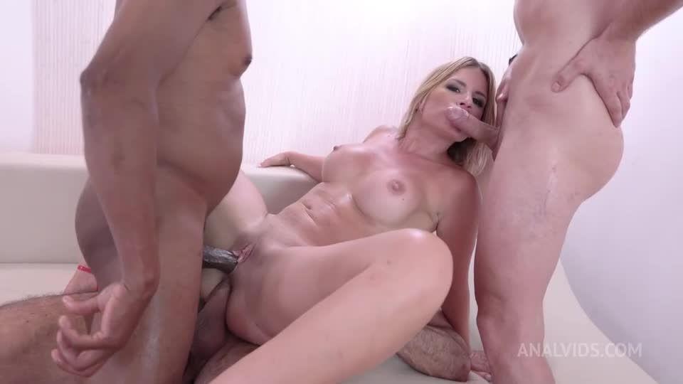 Double anal DP piss deepthroat gapes bbc facial cumshot NF106 (LegalPorno / AnalVids) Screenshot 5