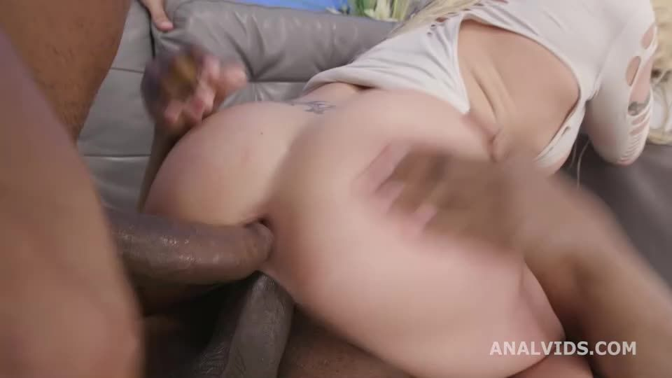 DP with BBC and Pee Drink, Balls Deep Anal, Gapes, ATM, ButtRose and Creampie Swallow (LegalPorno) Screenshot 3