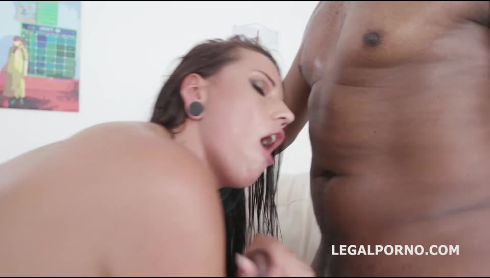 [LegalPorno] Double Addicted BBC edition. Balls Deep Anal, DAP, Gapes, ATOGM, Creampie to Mouth - Jolee Love, Nicole Black (DAP)/(Stockings)