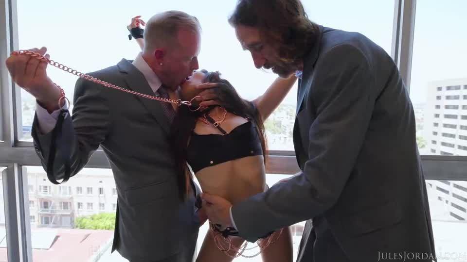 Asian Goddess Vina Sky Demands Two Cocks Inside Her At Once (JulesJordan) Screenshot 1