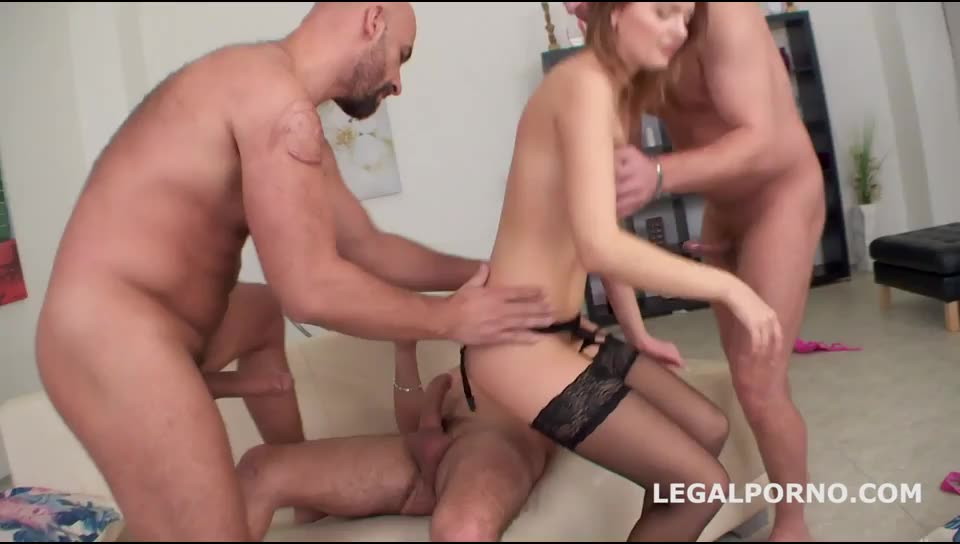 [LegalPorno] DAP Destination, finally enjoys DAP, multiple swallows, gapes, farts. Ball Deep Ass Fucking - Emily Thorn (GangBang)/(4M1F)