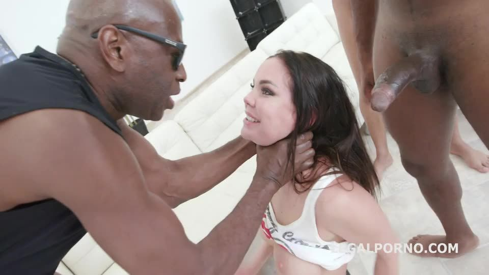 BBC, rough Balls Deep Anal with DAP, Gapes, Facial (LegalPorno) Screenshot 8