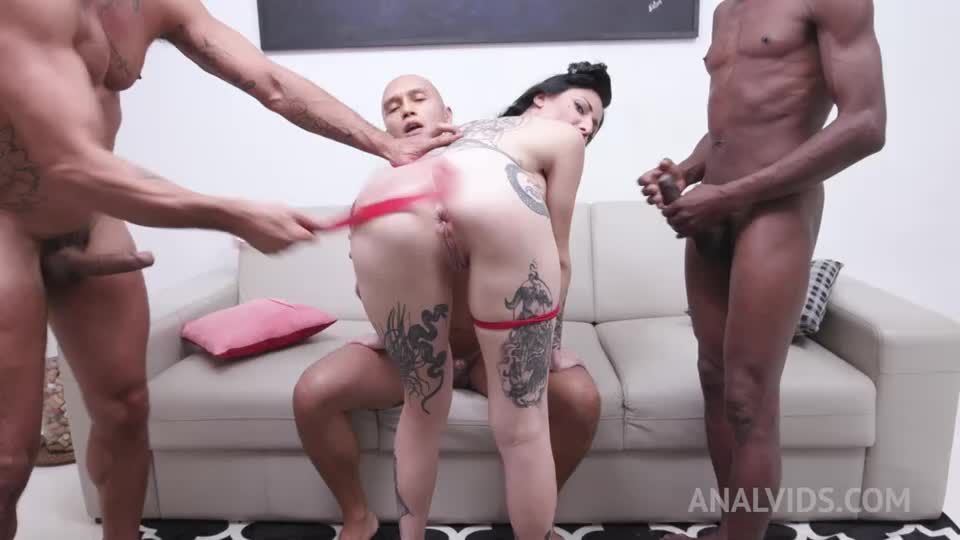 Fuck session with DP, DAP, DVP and Triple Penetration YE128 (LegalPorno / AnalVids) Screenshot 3