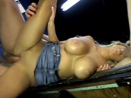 [JM Productions] White Trash Whore 37 / It Takes Two Baby - Carly Parker (DP)/(Blonde)