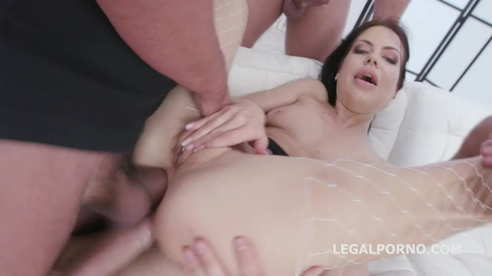 [LegalPorno] DAP destination. Balls Deep Anal and DP, DAP, Gapes, Swallow - Allatra Hot (DAP)/(High Heels)