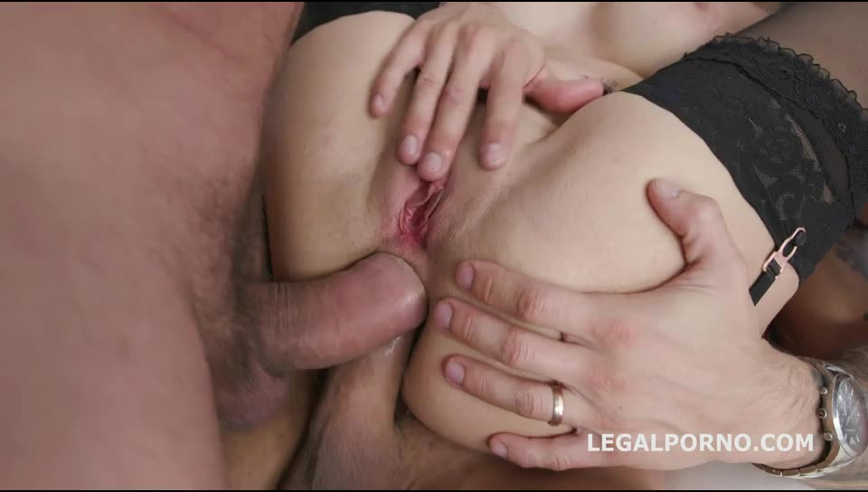 [LegalPorno] DAP Destination, Huge Toys, Balls Deep Anal, DP, DAP, Gapes, 4 swallow - Natasha Teen (DAP)/(Stockings)