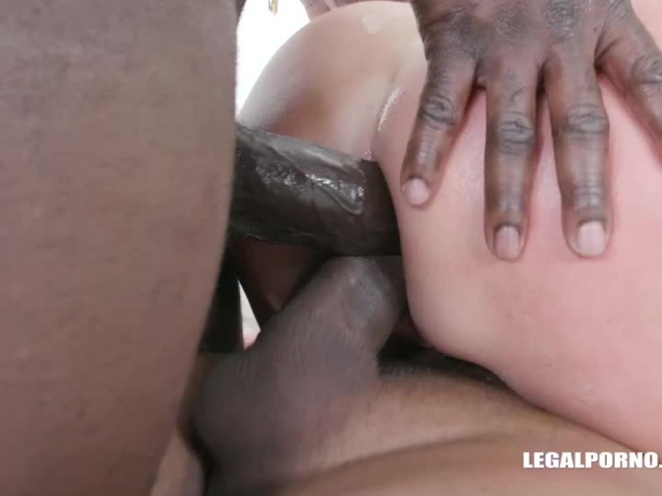 First time with black cocks (LegalPorno) Screenshot 7
