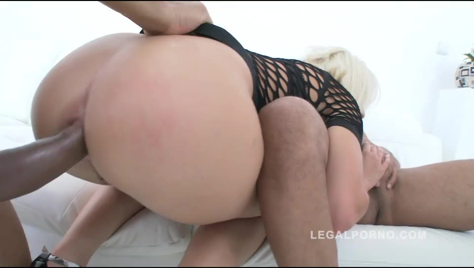 [LegalPorno] Interracial anal punishment & DAP – Ria Sunn (DAP)/(Blonde)