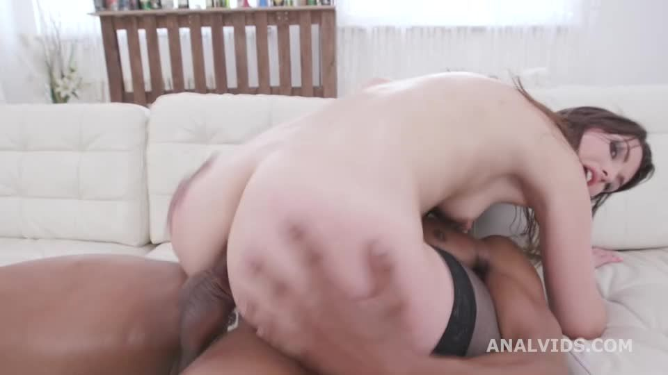 Double Anal Creampie, Balls Deep Anal, DAP, Gapes and Creampie (LegalPorno) Screenshot 9
